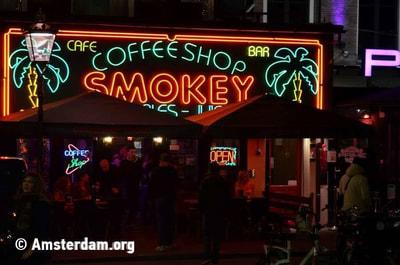 Coffeeshop Smoky Amsterdam