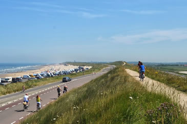 Cycling in Domburg