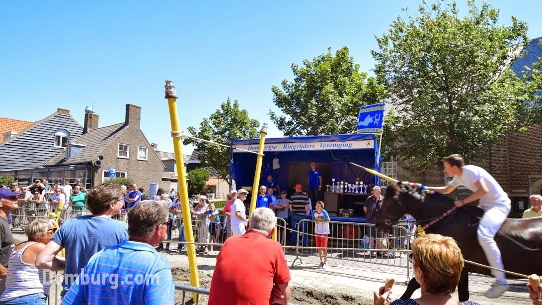 Ringrijden in Domburg