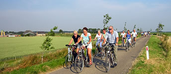 Cycling on Terschelling