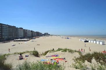 Beach Oostduinkerke