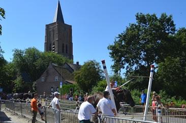 Ringrijden in Oostkapelle