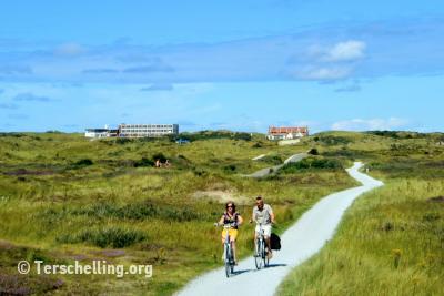 Radfahren auf Terschelling