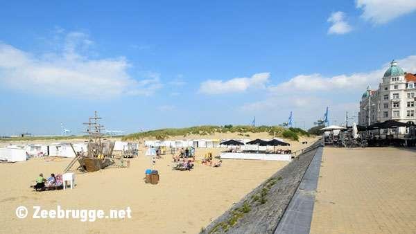 Beach Zeebrugge
