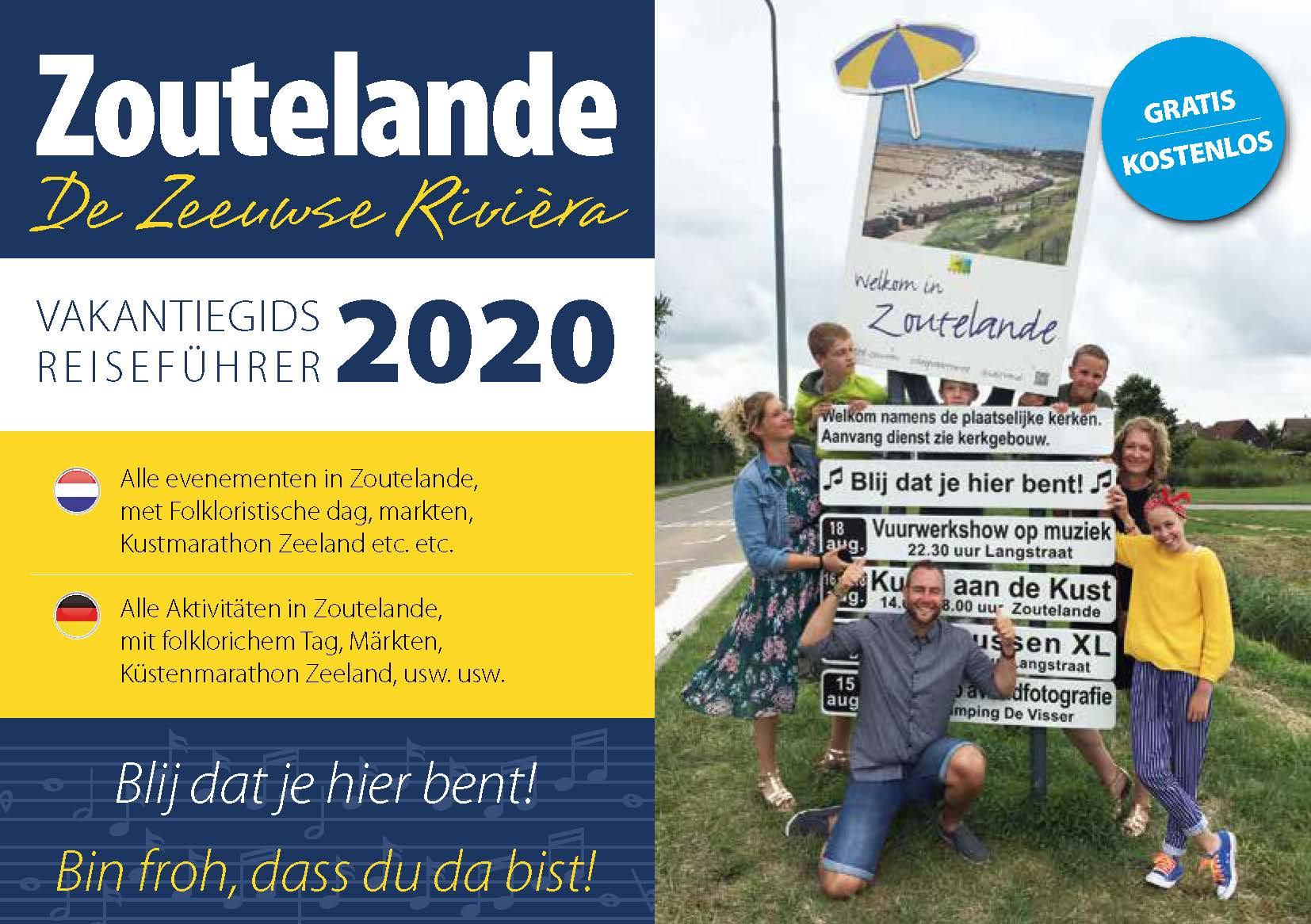Zoutelande Event Flyer 2020