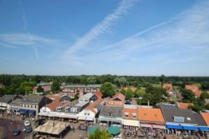 Climbing the church tower of Renesse